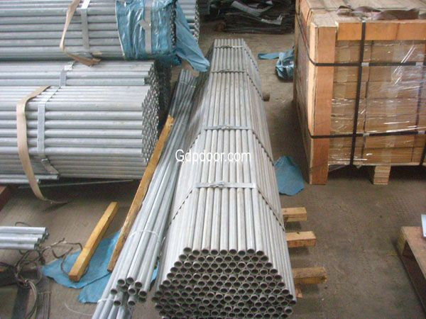 16 Ga steel zinc plated Tube